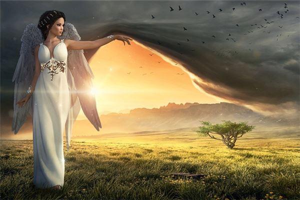 꿈에서 천사가된다는 것은 무엇을 의미합니까?